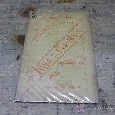 Libri antichi: 133.-GUERRA DE CUBA-TEATRO-ROJA Y GUALDA-ADELAIDA MUÑIZ Y MAS. Lote 26384683
