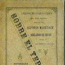 Libros antiguos: A. MARXUACH Y A. DE REYES : SOBRE EL TERRENO (1892) . Lote 28380873