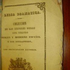 Libros antiguos: GALERIA DRAMATICA REPUBLICA CONYUGAL. Lote 28616690