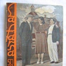Libros antiguos: ROMANCE DE FIERAS. LINARES RIVAS, MANUEL. 1927. LIBRERÍA Y EDITORIAL MADRID. Lote 28920774