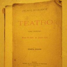 Libros antiguos: TEATRO. JACINTO BENAVENTE.TOMO 11, 1922, 4T ED.. ROSAS DE OTOÑO Y BUENA BODA. LIB. SUCESORES DE BERN. Lote 29715890