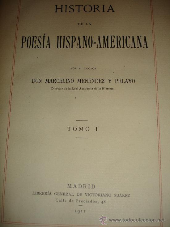 Libros antiguos: OBRA COMPLETA DON MARCELINO MENEDEZ Y PELAYO (14 TOMOS) 1911 Se vende tomos sueltos - Foto 4 - 30566345