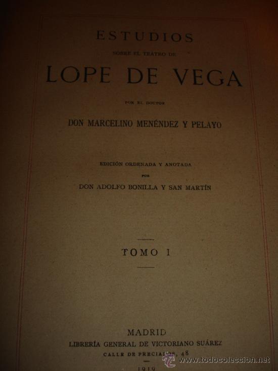 Libros antiguos: OBRA COMPLETA DON MARCELINO MENEDEZ Y PELAYO (14 TOMOS) 1911 Se vende tomos sueltos - Foto 6 - 30566345