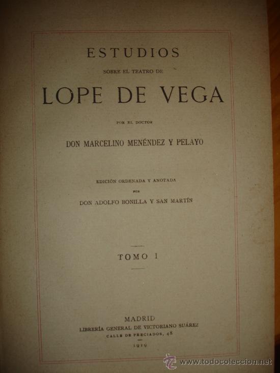 Libros antiguos: OBRA COMPLETA DON MARCELINO MENEDEZ Y PELAYO (14 TOMOS) 1911 Se vende tomos sueltos - Foto 7 - 30566345