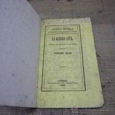 Libros antiguos: 1384.- LA GUERRA CIVIL-TEODORO BARO-GUERRA DEL SET ANYS-TEATRE. Lote 30581540