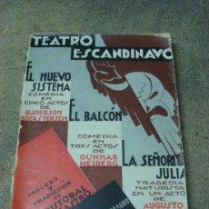 Libros antiguos: TEATRO ESCANDINAVO. 1933. Lote 31693789
