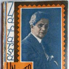 Libros antiguos: UN MOMENTO - COMEDIA DE FELIPE SASSONE - LA FARSA Nº 207 - 29 AGOSTO 1931. Lote 31851678
