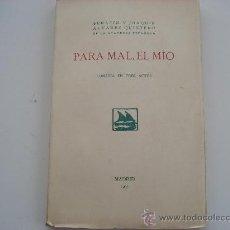 Libros antiguos: 1ª EDICION HERMANOS ALVAREZ QUINTERO 1935. Lote 32112176