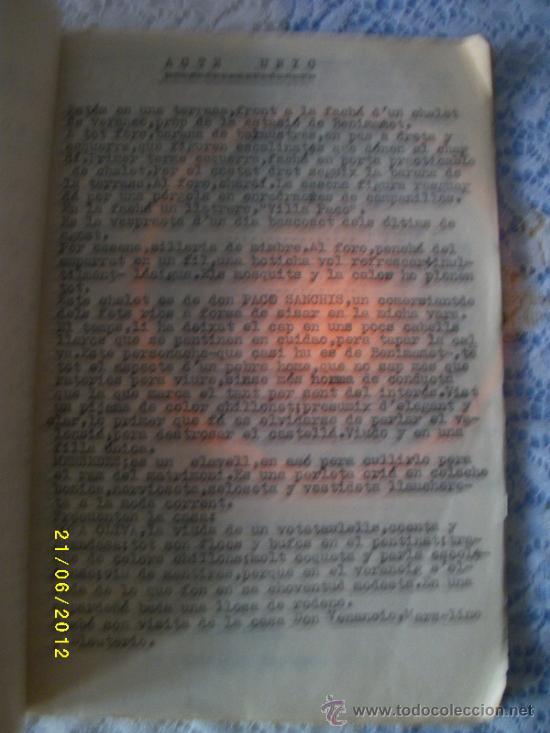 Libros antiguos: OBRA DE TEATRO NO ES PER AHI AÑO 1929 - Foto 4 - 32298673