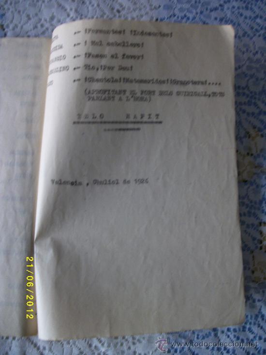 Libros antiguos: OBRA DE TEATRO NO ES PER AHI AÑO 1929 - Foto 5 - 32298673