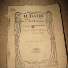 Libros antiguos: EL TEATRO MODERNO - LOS AMANTES DE TERUEL - 19-VII- 1.930 - NUM. 256. Lote 32479651