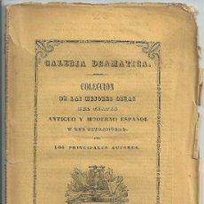 Libros antiguos: LA HERMANA DEL SARGENTO. COMEDIA EN DOS ACTOS. TRADUCIDA DEL FRANCÉS POR DON RAMÓN DE NAVARRETE.1849. Lote 32618268