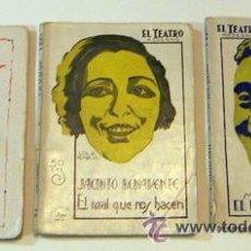 Libros antiguos: 3 OBRAS DE TEATRO 1926-1929-1930. Lote 32789403