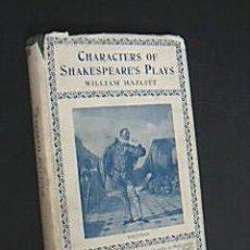 Libros antiguos: OBRAS DE SHAKESPEARE. HAZLITT, WILLIAM. HUMPHREY MILFORD. OXFORD UNIVERSITY 1924. Lote 34027426