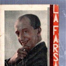 Libros antiguos: REVISTA SEMANAL LA FARSA, AÑO IX, 1935 MADRID, COMEDIA EL HOGAR Nº 246. Lote 34121204