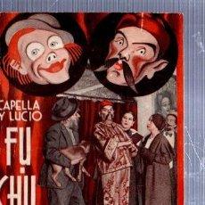 Libros antiguos: REVISTA SEMANAL LA FARSA, AÑO IX, 1935 MADRID, COMEDIA FU-CHU-LING Nº 392. Lote 34121234