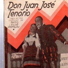 Libros antiguos: REVISTA SEMANAL LA FARSA, AÑO IX, 1935 MADRID, COMEDIA DON JUAN TENORIO Nº 220. Lote 34121288