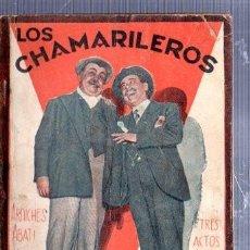 Libros antiguos: REVISTA SEMANAL LA FARSA, AÑO V, 1931 MADRID, COMEDIA LOS CHAMARILEROS Nº 182. Lote 34122905