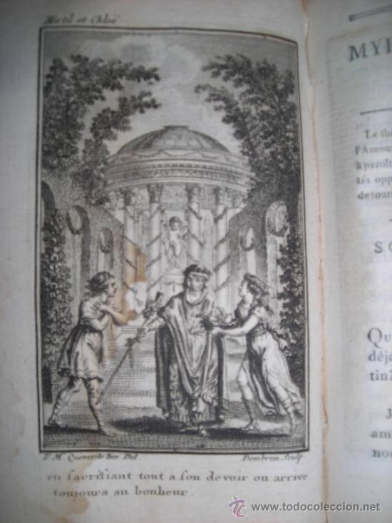 Libros antiguos: Oeuvres de M. De Florian Tomo II, 1786, Contiene 7 grabados - Foto 6 - 34344756