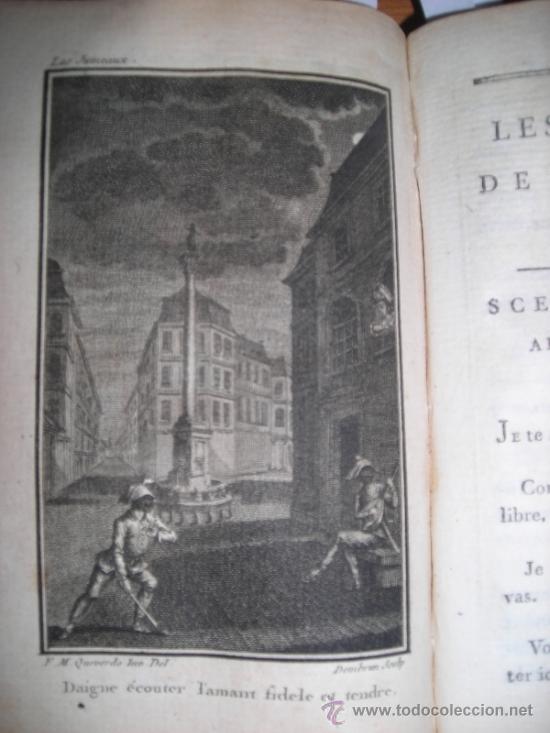 Libros antiguos: Oeuvres de M. De Florian Tomo II, 1786, Contiene 7 grabados - Foto 8 - 34344756