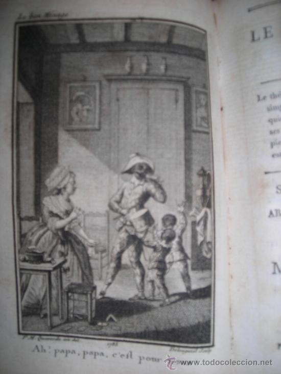 Libros antiguos: Oeuvres de M. De Florian Tomo I, 1786, Contiene 1 Frontispicio y 4 grabados - Foto 7 - 34344671