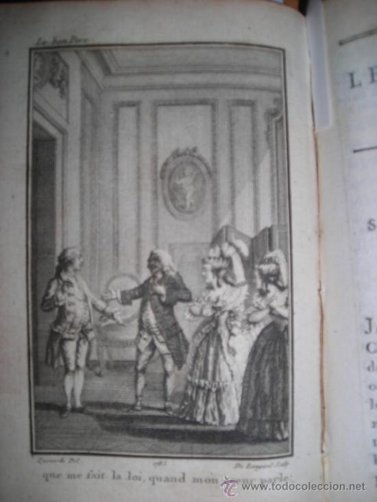 Libros antiguos: Oeuvres de M. De Florian Tomo I, 1786, Contiene 1 Frontispicio y 4 grabados - Foto 8 - 34344671