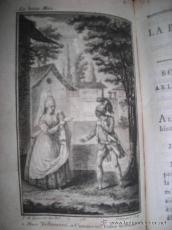 Libros antiguos: Oeuvres de M. De Florian Tomo I, 1786, Contiene 1 Frontispicio y 4 grabados - Foto 9 - 34344671