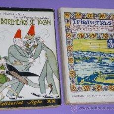 Libros antiguos: LOS EXTREMEÑOS SE TOCAN - TRIANERÍAS. DOS OBRAS DE PEDRO MUÑOZ SECA Y PEDRO PEREZ FERNANDEZ.. Lote 34190493