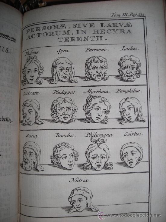 Libros antiguos: Les Comedies de Terence, Dacier, 1747. Contiene 10 grabados - Foto 10 - 34409565