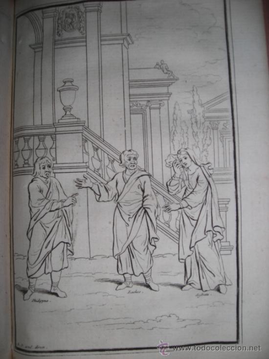 Libros antiguos: Les Comedies de Terence, Dacier, 1747. Contiene 10 grabados - Foto 13 - 34409565