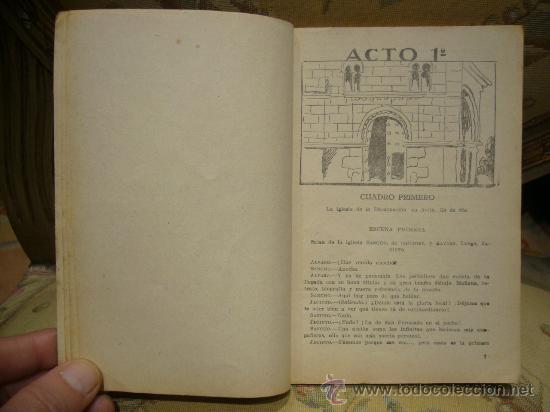 Libros antiguos: SANCHO AVENDAÑO DE MANUEL LINARES RIVAS. LA FARSA Nº 305. 1.933. - Foto 4 - 35099722