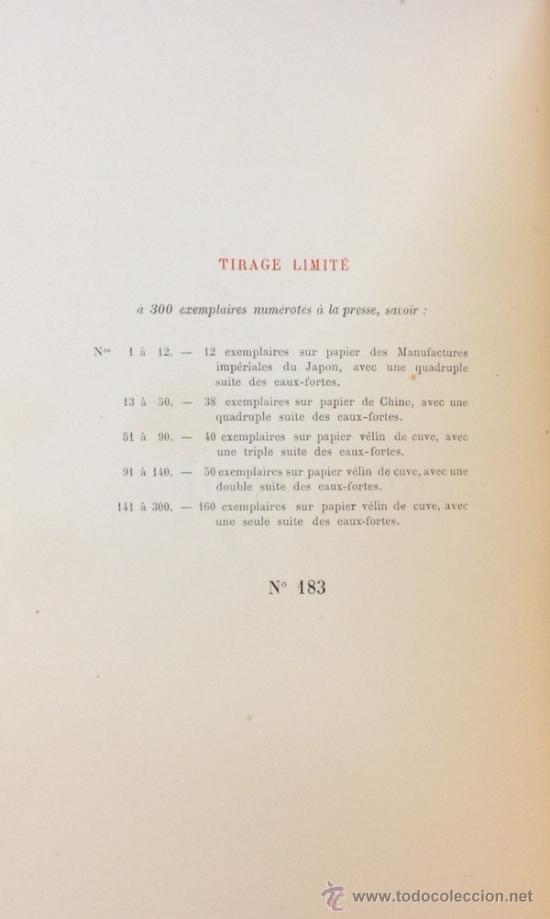 Libros antiguos: LA MORT DU DUC DENGHIEN, PAR LEON HENNIQUE. 1895. VER DESCRIPCION Y FOTOS. VER ENCUADERNACION. - Foto 6 - 35200132
