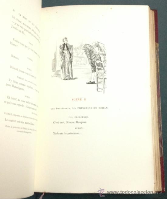 Libros antiguos: LA MORT DU DUC DENGHIEN, PAR LEON HENNIQUE. 1895. VER DESCRIPCION Y FOTOS. VER ENCUADERNACION. - Foto 9 - 35200132