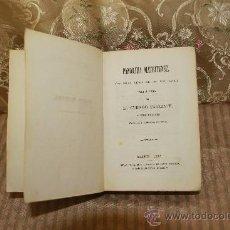 Libros antiguos: 2454- PANORAMA MATRITENSE. EL CURIOSO PARLANTE. TIP. GRANCISCO DE PAULA. 1862. 2 TOMOS EN 1 VOL.. Lote 35667410