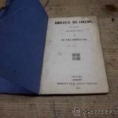 Libros antiguos: 1522.- GRANADA-TEATRO-BORRSCAS DEL CORAZON-TOMAS RODRIGUEZ RUBI. Lote 35880465
