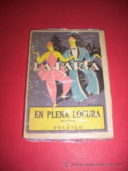 BORRÁS, TOMÁS. EN PLENA LOCURA : REVISTA EN VEINTIÚN CUADROS (Libros antiguos (hasta 1936), raros y curiosos - Literatura - Teatro)