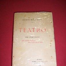 Libri antichi: BENAVENTE, JACINTO. TEATRO. TOMO DECIMOTERCERO : LAS CIGARRAS HORMIGAS ; MÁS FUERTE QUE EL AMOR. Lote 35976605