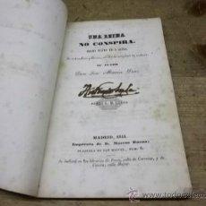 Libros antiguos: 1753.- CONDESA ELVIRA-MARQUES DE ALVARADO-PORTUGAL-TEATRO-UNA REINA NO CONSPIRA. Lote 35906898