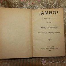 Libros antiguos: 2690- SELECCION DE OBRAS DE TEATRO. VV.AA. EDIT. FRANCISCO BADIA, 1896. VER DESCRIPCION.. Lote 36139160