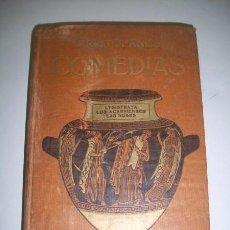 Libros antiguos: ARISTÓFANES. COMEDIAS. TOMO PRIMERO. Lote 36366074