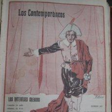 Libros antiguos: LOS CONTEMPORANEOS. REVISTA SEMANAL ILUSTRADA. 26 NUMEROS ( ENERO/JUNIO 1913 ). Lote 36625199