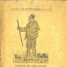 Libros antiguos: TEODORO BARÓ : LO SENYOR BATLLE (1898) TEATRE CATALÀ. Lote 37864912