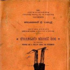 Libros antiguos: JAUME CAPDEVILA : LO SENYOR NADAL (1898) TEATRE CATALÀ. Lote 37868966