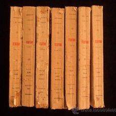 Libros antiguos: TEATRO. JACINTO BENAVENTE. 7 TOMOS. LIBRERIA SUCESORES DE HERNANDO. 1917 . Lote 38460087