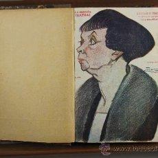Libros antiguos: 3690- NOVELA TEATRAL. VV.AA. 11 NUMEROS ENCUADERNADOS. 1920.. Lote 38953293
