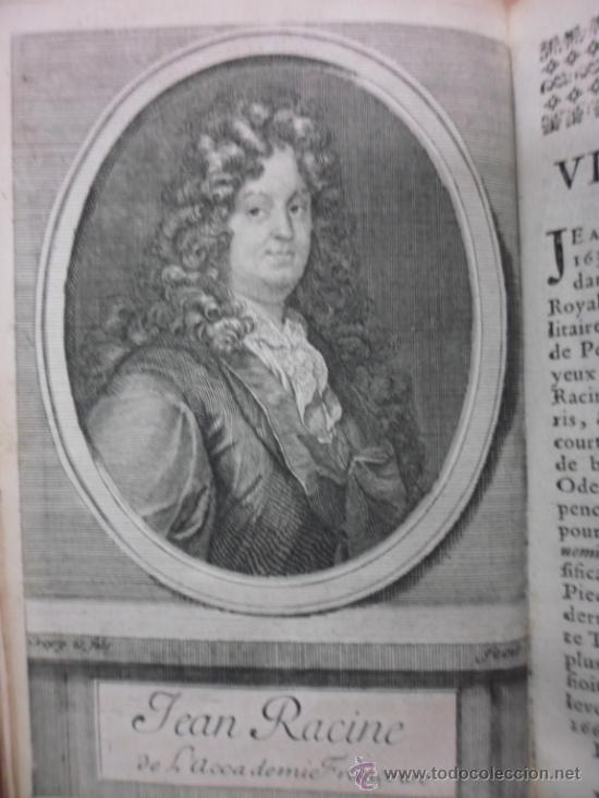 Libros antiguos: Ouvres de Racine (Tomos I y II ). Obra completa. 1728, Jean Racine, Contienen 2 Frontispicios y 13 g - Foto 6 - 39219270