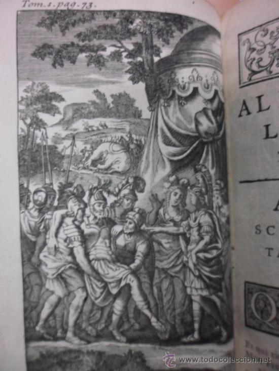 Libros antiguos: Ouvres de Racine (Tomos I y II ). Obra completa. 1728, Jean Racine, Contienen 2 Frontispicios y 13 g - Foto 8 - 39219270