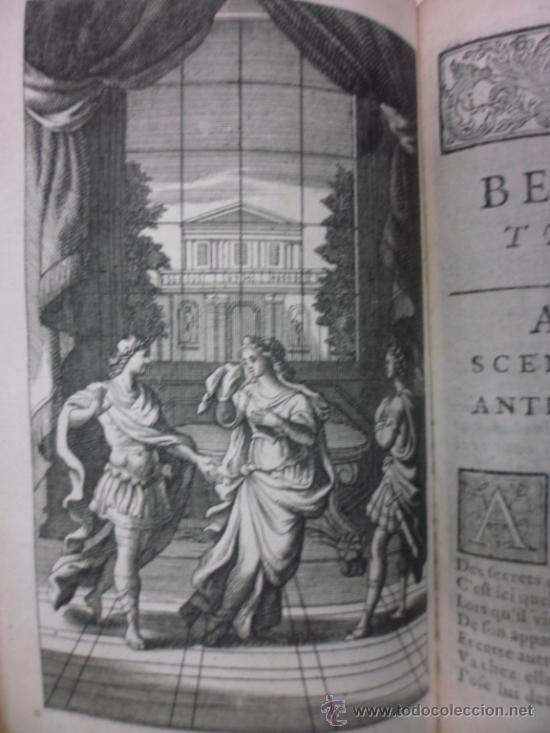 Libros antiguos: Ouvres de Racine (Tomos I y II ). Obra completa. 1728, Jean Racine, Contienen 2 Frontispicios y 13 g - Foto 11 - 39219270