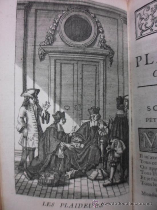 Libros antiguos: Ouvres de Racine (Tomos I y II ). Obra completa. 1728, Jean Racine, Contienen 2 Frontispicios y 13 g - Foto 12 - 39219270