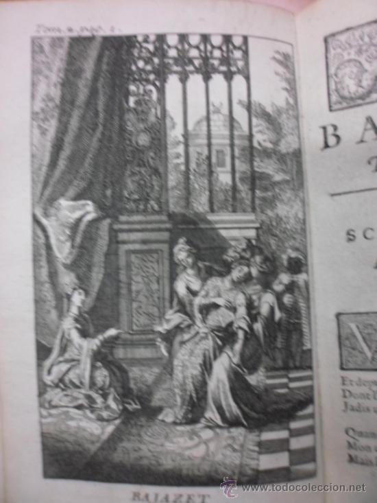Libros antiguos: Ouvres de Racine (Tomos I y II ). Obra completa. 1728, Jean Racine, Contienen 2 Frontispicios y 13 g - Foto 16 - 39219270